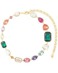 Shourouk Crystal Necklace - Multicolour