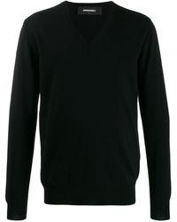 DSquared² V-neck Sweater - Black