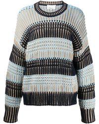 3.1 Phillip Lim Ls Bold Striped Sweater - マルチカラー