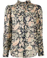 Ba&sh Abi Floral-print Shirt - Multicolour