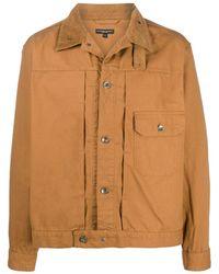 Engineered Garments パネル シャツジャケット - ブラウン