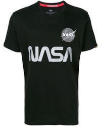 Alpha Industries - Nasa Tシャツ - Lyst