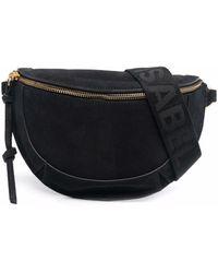 Étoile Isabel Marant Skano Suede Crossbody Bag - Black