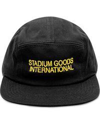 Stadium Goods ロゴ キャップ - ブラック