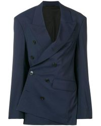 A.F.Vandevorst - Asymmetric Tailored Blazer - Lyst