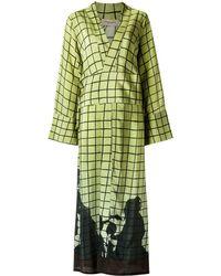 Adriana Degreas Платье В Пол - Зеленый
