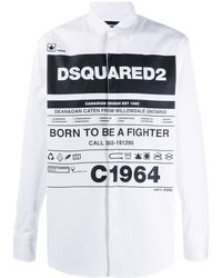 DSquared² - プリント シャツ - Lyst