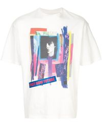 69e4585e Gucci Logo Modern Future Motif T-shirt in Red for Men - Lyst