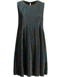Golden Goose Deluxe Brand Платье-трапеция С Блестками - Синий