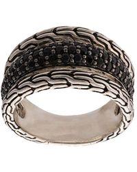 John Hardy 'Classic Chain' Ring aus Sterlingsilber - Mettallic