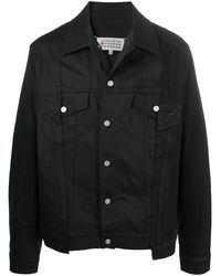 Maison Margiela - Джинсовая Куртка Со Вставками - Lyst