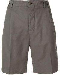 Aspesi - High Waist Shorts - Lyst