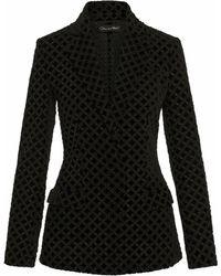 Oscar de la Renta Two-piece Suit - Black