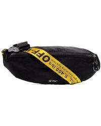 Off-White c/o Virgil Abloh Industrial Logo Belt Bag - Black