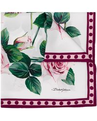 Dolce & Gabbana - プリント スカーフ - Lyst