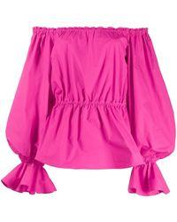 Pinko - Blouse à épaules dénudées - Lyst