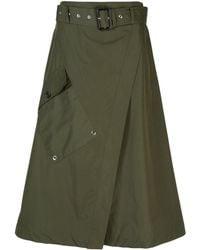 Derek Lam ラップスカート - グリーン