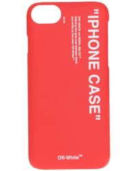 Off-White c/o Virgil Abloh - Quote Iphone 8 Case - Lyst