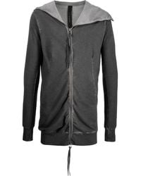 Army Of Me Deconstructed Hooded Jacket - Grey