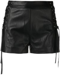 Just Cavalli - Lace-up Shorts - Lyst