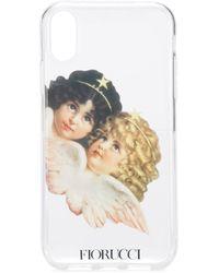 Fiorucci Angels Iphone Xr ケース - ホワイト