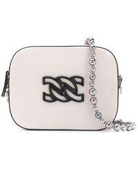 Casadei Logo Embellished Mini Shoulder Bag - Multicolor
