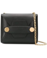 Stella McCartney Stella Popper Shoulder Bag - Black
