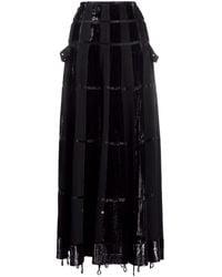 Dior 2000s Aラインスカート - ブラック