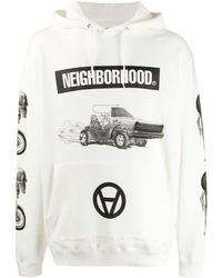 Neighborhood Example ロゴ パーカー - マルチカラー