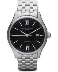 Frederique Constant Наручные Часы Classics Index Automatic 40 Мм - Черный