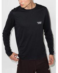 Pas Normal Studios Balance Logo Long Sleeve T-shirt - Black