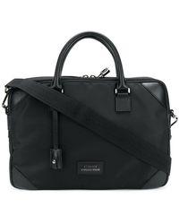 Versace - Logo Patch Briefcase - Lyst