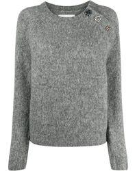 Ba&sh Jude Jumper - Grey