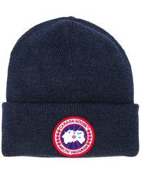 Canada Goose Arctic Disc Toque hat - Bleu