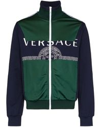 Versace トラックジャケット - グリーン