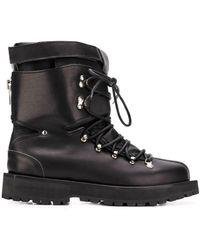 Sacai Лыжные Ботинки На Шнуровке - Черный