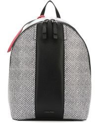Calvin Klein - Printed Backpack - Lyst