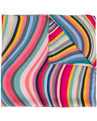 Paul Smith Swirl スカーフ - ピンク