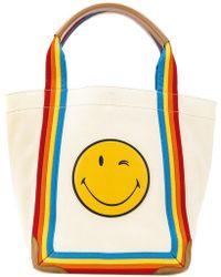 Anya Hindmarch | Smiley Rainbow Tote | Lyst