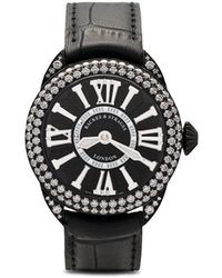 Backes & Strauss Piccadilly Diamond Knight Horloge - Zwart