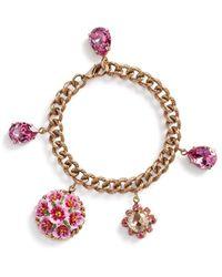 Dolce & Gabbana Цепочный Браслет С Подвеской - Многоцветный