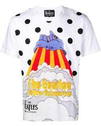 Comme des Garçons - Yellow Submarine Print T-shirt - Lyst
