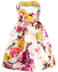Philipp Plein Короткое Платье Paradise - Белый