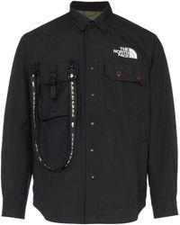 The North Face Coach ポケットシャツ - ブラック