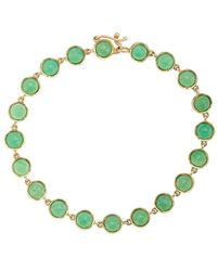 Irene Neuwirth 18kt Yellow Gold Chrysoprase Bracelet - Metallic