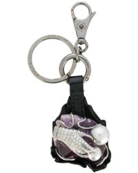 Dolce & Gabbana - Hand Embellished Keyring - Lyst