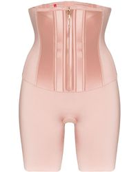 Spanx Under Sculpture Waist Cincher Shorts - Multicolour