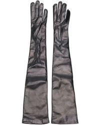 Ann Demeulemeester Joris Long Gloves - Black