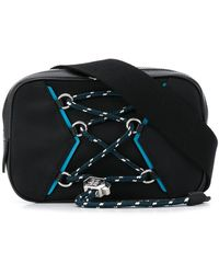 Givenchy レースアップ ベルトバッグ - ブラック