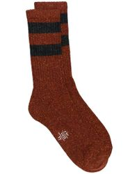 Eleventy - Striped Pattern Socks - Lyst